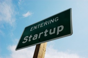 Entering Startup sign